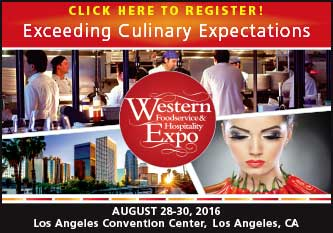Western Foodservice Expo 2016