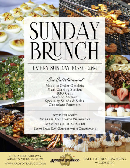 Sunday Brunch Flyer 8 11