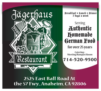 Homemade Authentic German Cuisine @ Jagerhaus German Restaurant | Anaheim | California | United States
