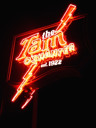Tam O'Shanter Sign