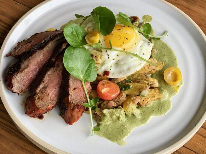Panxa Cocina Steak & Eggs