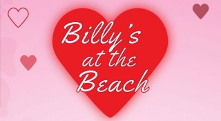 Join Billy's at the Beach for Valentine's Day