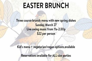 Restauration Easter Brunch