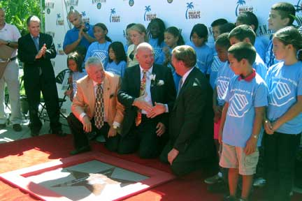 Bruno Serato Joins Anaheim Walk of Stars
