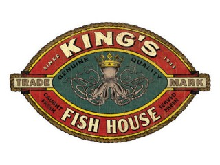 Kings Fish House Orange logo