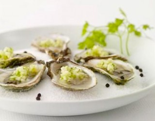 Oysters On The Halfshell