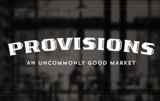 Provisions Market Orange logo
