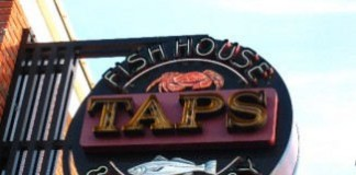 Taps Fish House Brewery Irvine logo