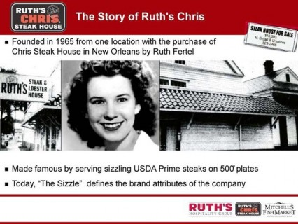 Ruth's Chris and Great Women in the Inustry