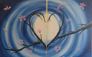 Saturday Painting Love In Bloom