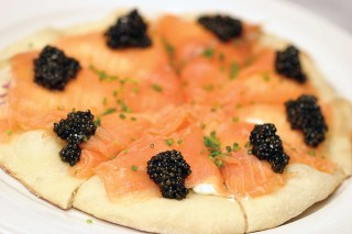 Wolfgang Puck Smoked Salmon Pizza