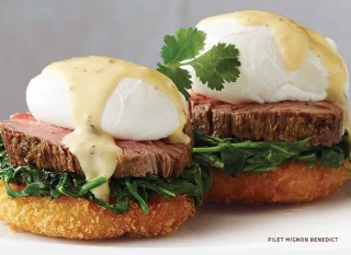 Flemings Filet Mignon Benedict