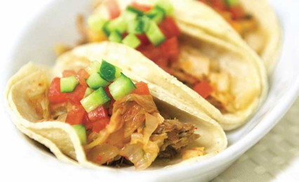 Asian Carnitas And Kim Chee Tacos Recipe By Melissas