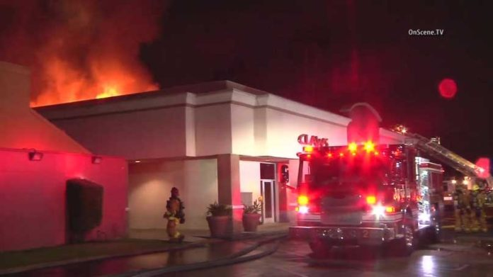 Claws Restaurant Fire