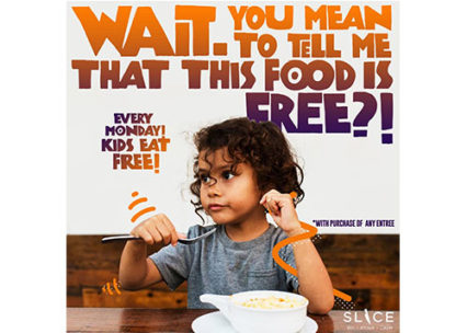 Kids Eat Free Every Monday at Slice Deli & Cakery @ Slice Deli and Cakery - Fountain Valley | Fountain Valley | California | United States