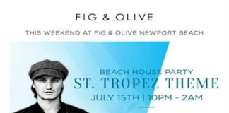 Fig & Olive Beach Party DJ