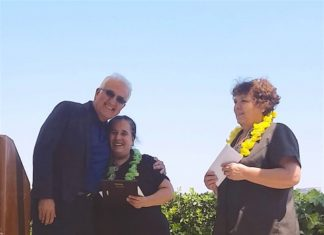 Hotel Maya Celebrates 40 Year Employees From Left, Kambiz ³Kam² Babaoff, Chairman Of Ensemble Real Estate Solutions, Celsa Gonzalez, Housekeeping Supervisor, And Vicenta Martinez, Room Attendant