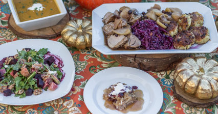 Cooking with Chef Mead from the Farmhouse | Thanksgiving Sides Inspired by a Trip to the Farmer's Market @ Roger's Gardens | Newport Beach | California | United States