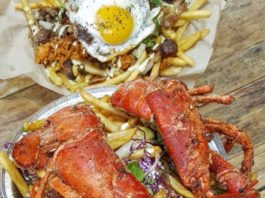 Dos Chinos Lobster Fries And Stoner Fries