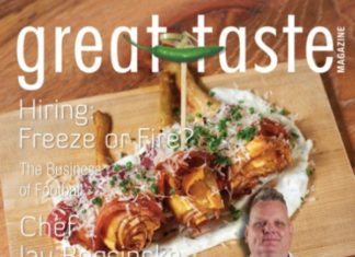 Great Taste Magazine Septoct Issue Cover