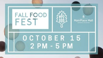 MAINPLACE MALL HOSTS FALL FOOD FEST, A FREE KICK-OFF EVENT TO MID-OCTOBER RESTAURANT WEEK @ Main Place Mall | Santa Ana | California | United States