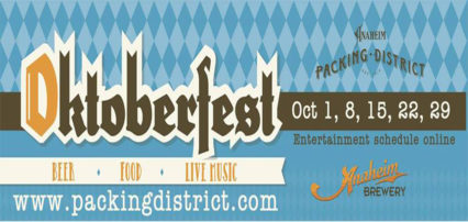 Oktoberfest at the Anaheim Packing District @ Anaheim Packing District | Anaheim | California | United States
