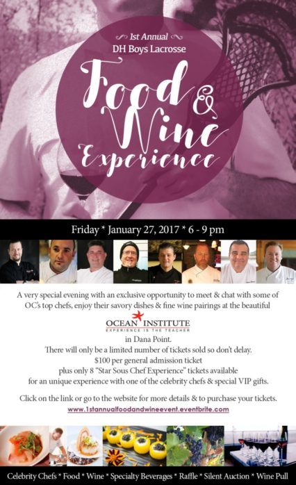 Food and Wine Experience @ Ocean Institute  | Dana Point | California | United States