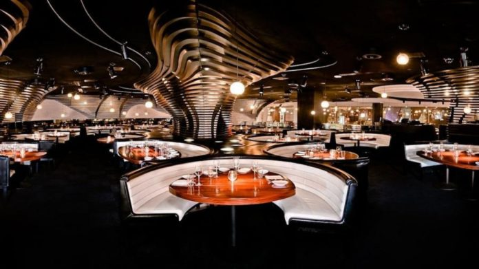 Stk Lounge Dining Area