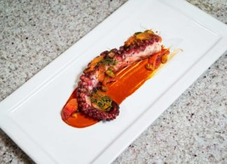 Chef Zach Geerson Octopus Full Photo