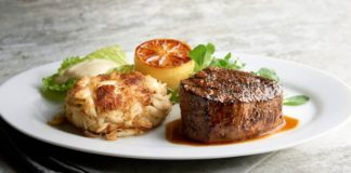 Morton's The Steakhouse Steak & Seafood Dinner