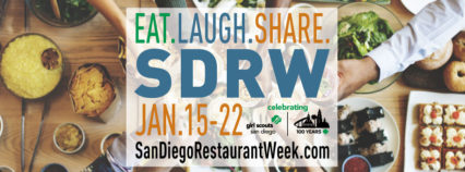 SDRW :  Eat. Laugh. Share. @  Various Restaurants | San Diego | California | United States