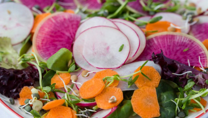 Cooking With Chef Rich Mead Series Spring Salads