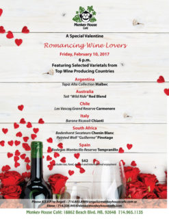 Romancing Wine Lovers Invite