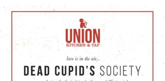 Union Kitchen Tap Encinitas Dead Cupids Society Event