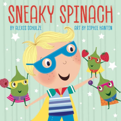 Sneaky Spinach Smoothie Book Cover Art