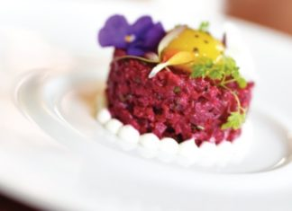 Studio At The Montage Crimson Beet Tartare