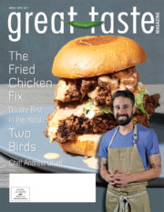 Great Taste Magazine 2017 March April Issue Cover