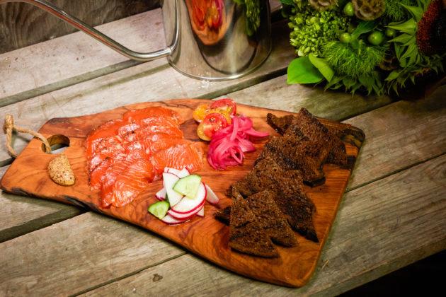 Farmhouse House Cured Salmon Farmhouse