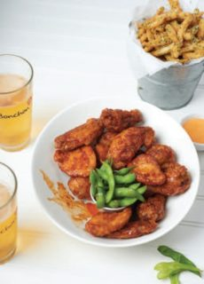 Fried Chicken Dinners Bonchon Wings And Beer
