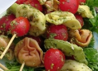 Chef Debbi Tortellini Skewer Recipe