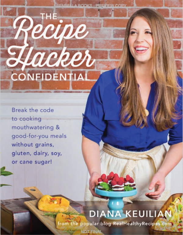 Recipe Hacker Cookbook Cover