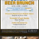 Colony Wine Merchant Beer Brunch