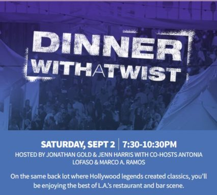 Dinner With a Twist @ Paramount Studios - Los Angeles