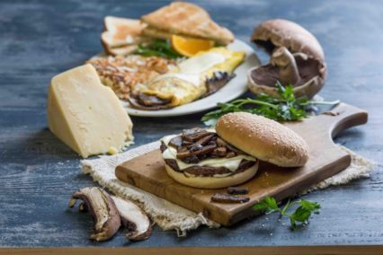 New Menu Featuring Fresh Portabella Mushrooms @ Farmer Boys - All Location