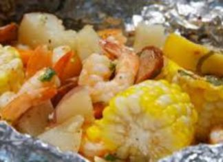 Debbi's Kitchen Seafood Grill Packets Recipe