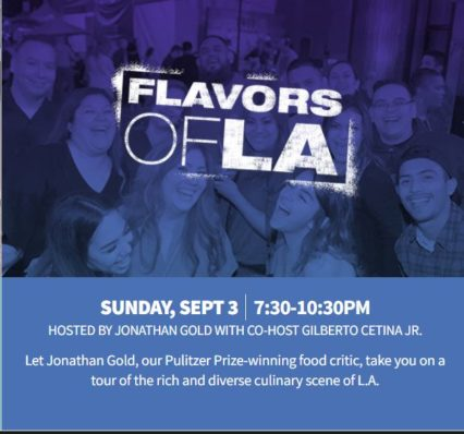 Flavors of L.A. - rich and diverse culinary scene @ Paramount Studios - Los Angeles