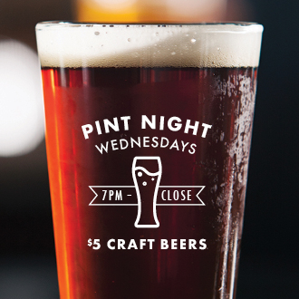 Pint Night Wednesdays @ Red Bar & Lounge at Hotel Irvine - Irvine | Irvine | California | United States