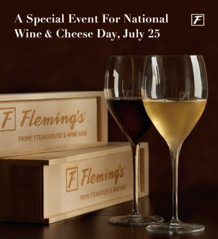 Celebrate National Wine & Cheese Day @ Fleming's Prime Steakhouse & Wine Bar