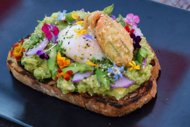 Recess Room Avocado Toast