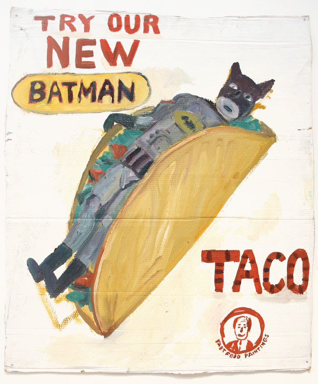 The Food Show Batman Taco